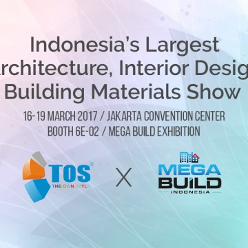TOS Solid Surface Akan Hadir di Pameran Mega Build